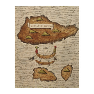 THE LADRONE ISLANDS WOOD WALL ART