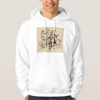 The Lady and the Tiger by Clifford K. Berryman Hoodie