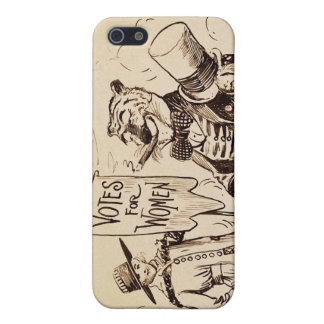 The Lady and the Tiger by Clifford K. Berryman iPhone SE/5/5s Case
