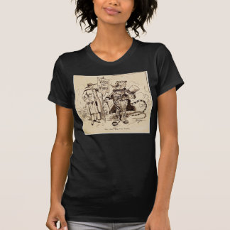 The Lady and the Tiger by Clifford K. Berryman T-Shirt