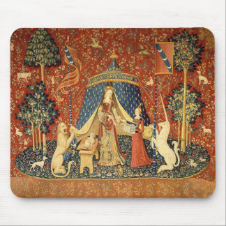 The Lady and the Unicorn: Desire Mouse Pad