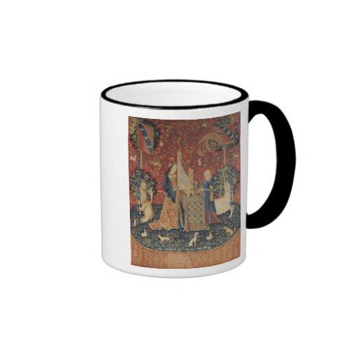 The Lady and the Unicorn: 'Hearing' Coffee Mugs