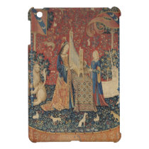 The Lady and the Unicorn: 'Hearing' iPad Mini Cover