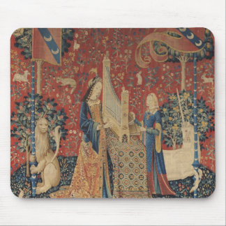 The Lady and the Unicorn: 'Hearing' Mouse Pad