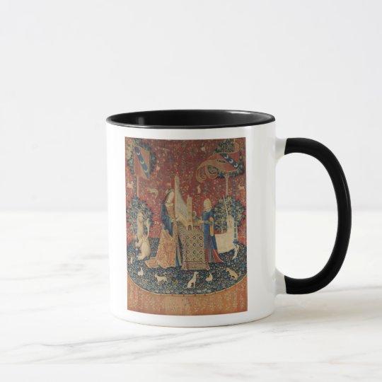 The Lady and the Unicorn: 'Hearing' Mug