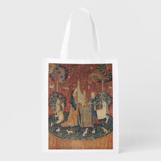 The Lady and the Unicorn Hearing Market Totes