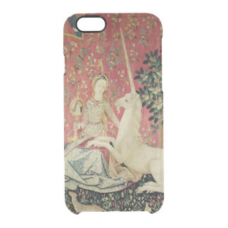 The Lady and the Unicorn: 'Sight' 2 Clear iPhone 6/6S Case