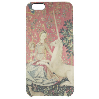 The Lady and the Unicorn: 'Sight' 2 Clear iPhone 6 Plus Case