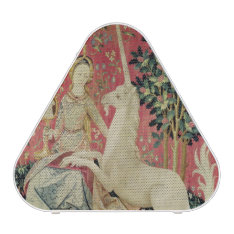 The Lady And The Unicorn: 'sight' Bluetooth Speaker at Zazzle