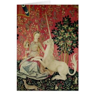 The Lady and the Unicorn: 'Sight' Card