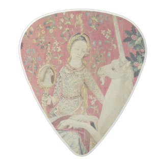 The Lady and the Unicorn: 'Sight' Acetal Guitar Pick