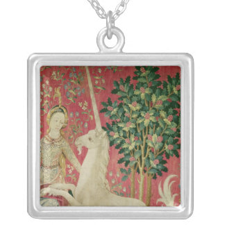 The Lady and the Unicorn: 'Sight' Custom Necklace