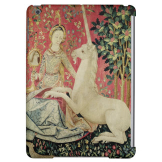 The Lady and the Unicorn: 'Sight' iPad Air Covers