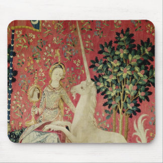 The Lady and the Unicorn: 'Sight' Mouse Pad