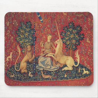 The Lady and the Unicorn: Sight Mouse Pad