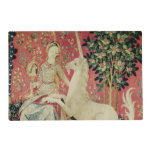 The Lady and the Unicorn: 'Sight' Laminated Placemat