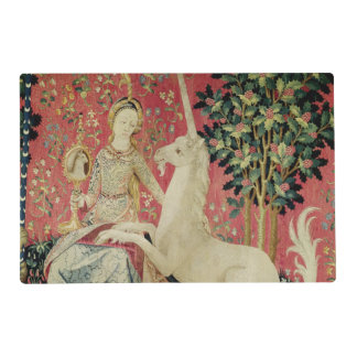 The Lady and the Unicorn: 'Sight' Placemat