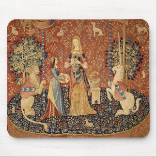 The Lady and the Unicorn: Smell Mouse Pad