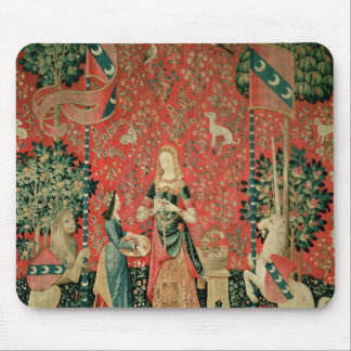 The Lady and the Unicorn: 'Smell' Mouse Pad