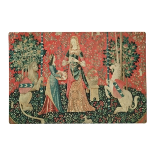 The Lady And The Unicorn: 'smell' Placemat at Zazzle