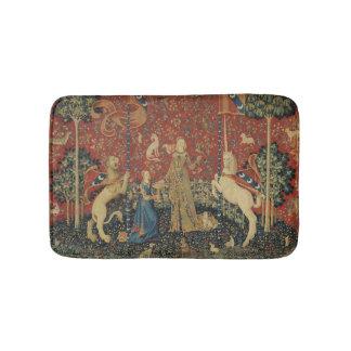 The Lady and the Unicorn: 'Taste' Bathroom Mat