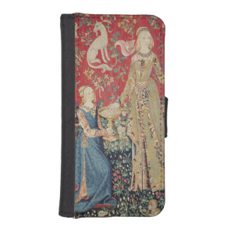 The Lady and the Unicorn: 'Taste' iPhone SE/5/5s Wallet Case