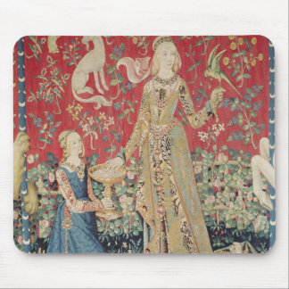 The Lady and the Unicorn: 'Taste' Mouse Pad