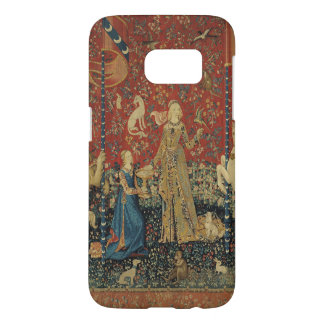 The Lady and the Unicorn: 'Taste' Samsung Galaxy S7 Case