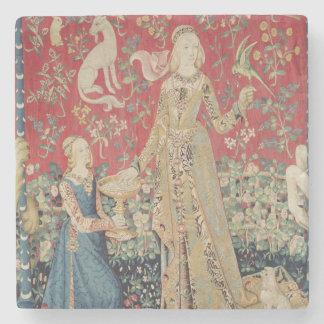 The Lady and the Unicorn: 'Taste' Stone Coaster