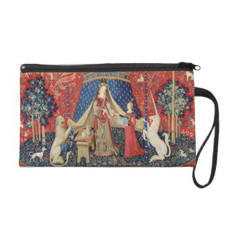 The Lady and the Unicorn To my only desire Wristlet Purses