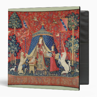 The Lady and the Unicorn: 'To my only desire' 3 Ring Binder