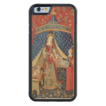 The Lady and the Unicorn: 'To my only desire' Carved® Maple iPhone 6 Bumper Case