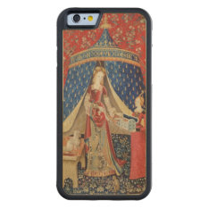 The Lady And The Unicorn: 'to My Only Desire' Carved Maple Iphone 6 Bumper Case at Zazzle