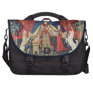 The Lady and the Unicorn To my only desire Laptop Messenger Bag