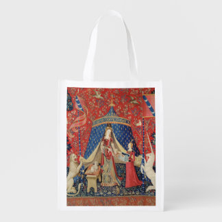 The Lady and the Unicorn: 'To my only desire' Grocery Bags