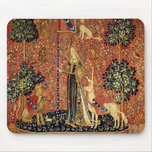 The Lady and the Unicorn: Touch Mouse Pads