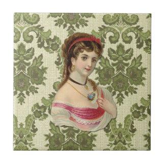 The Lady Ceramic Tiles