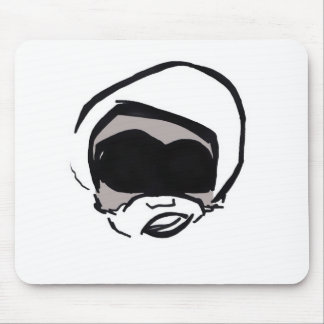 the lady chupacabra mouse pad