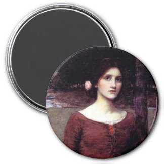 The Lady Clare Refrigerator Magnet