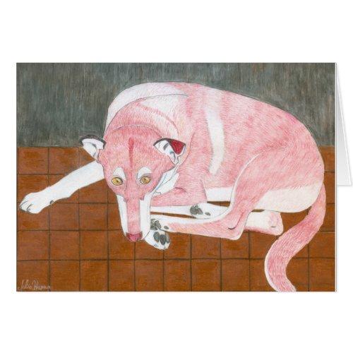 The Lady Dog Card by Julia Hanna