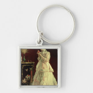 The Lady in Pink, 1867 Keychain