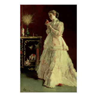 The Lady in Pink, 1867 Poster