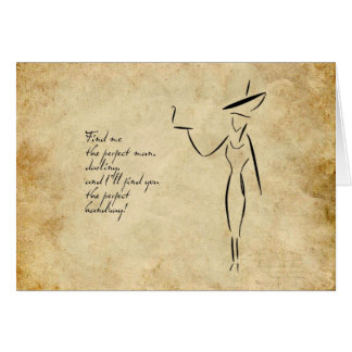 The Lady in the Big Hat #2 Card