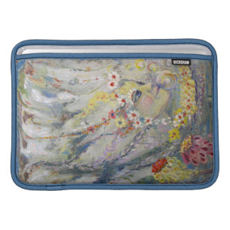 The Lady in the Waterfall MacBook Air Sleeve