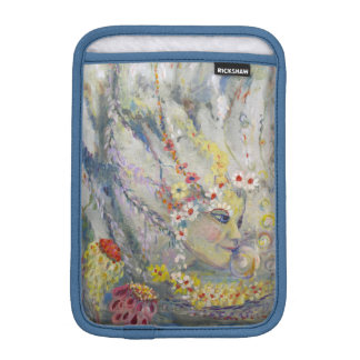 The Lady in the Waterfall Sleeve For iPad Mini