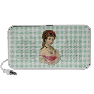 The Lady iPhone Speaker