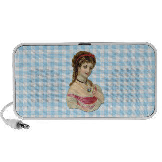 The Lady Laptop Speakers