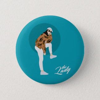 The Lady - Leaf Button