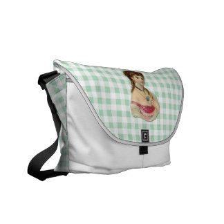 The Lady Messenger Bags