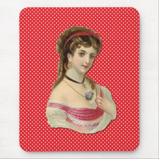 The Lady Mouse Pad